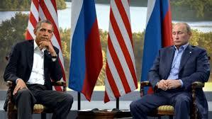 Photo Putin and Obama