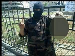 photo jihadi finger sign