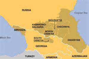 photo Ossetias map