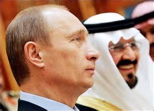 photo Putin and Arabs