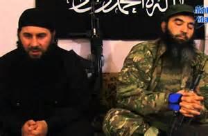 photo Ukraine and jihad Shishani i Krymskii