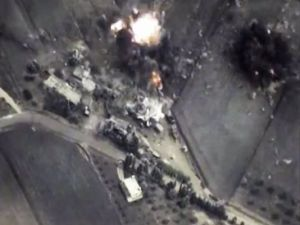 Photo Russia Bombing Syria