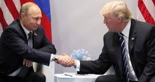photo Putin and Trump Hamburg